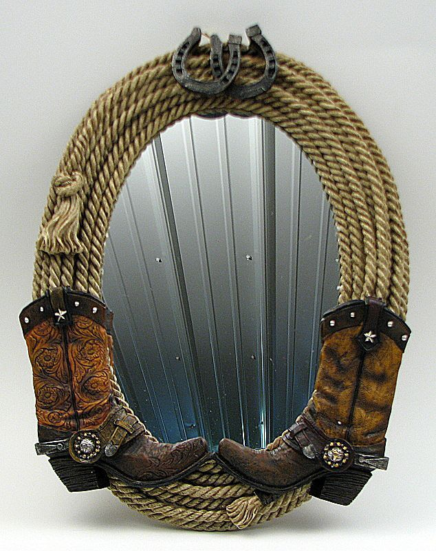 Rope Boot Mirror