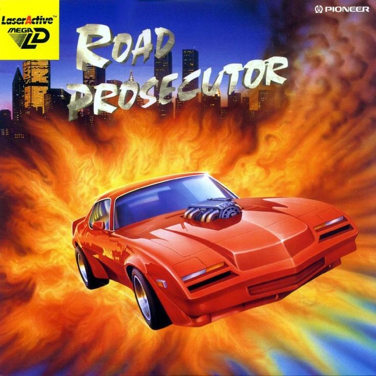 (Pioneer LaserActive) Road Prosecutor (PEASU1033) Released