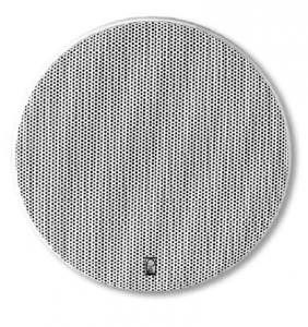 """Poly-Planar MA6500 Platinum 5-1/2"""""""" Two Way Round High Power Speakers White"""