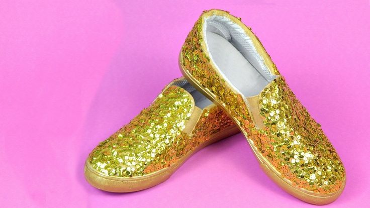 Sparkly Sequin Shoes Diy  •  Free tutorial with pictures on how to embellish a pair of sequin shoes in under 90 minutes
