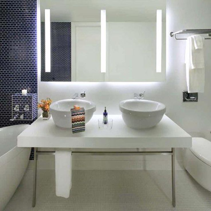 Triple Fusion Lighted Mirror By Electric