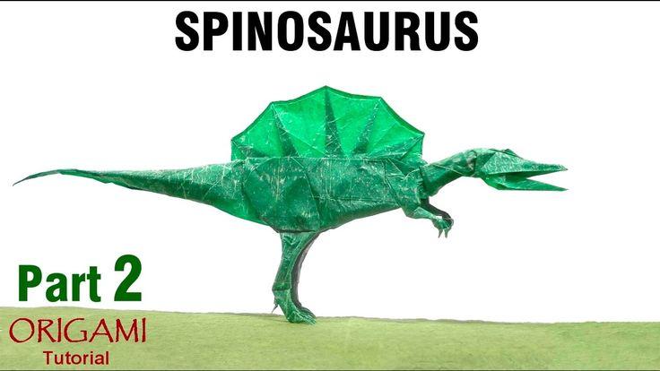 Origami Spinosaurus tutorial (Shuki Kato) Part 2 dinosaur 折り紙 スピノサウルス оригами учебник Спинозавр: PLEASE SUBSCRIBE! : https://www.youtube.com/user/Marianozb?sub_confirmation=1 LIKE US ON FACEBOOK!  http://ift.tt/2isLRM5 FOLLOW ME ON INSTAGRAM!  http://ift.tt/2iomE26 LOOK AT MY FLICKR:  http://ift.tt/2it0kHV VISIT MY WEBSITE:  http://ift.tt/2iokXBV   Cómo hacer un Spinosaurus en Origami (Parte 2) Diseñado por Shuki Kato  ========================================   Nivel de dificultad: complex…