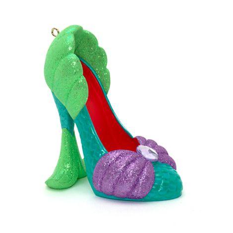 Mini chaussure décorative La Petite Sirène