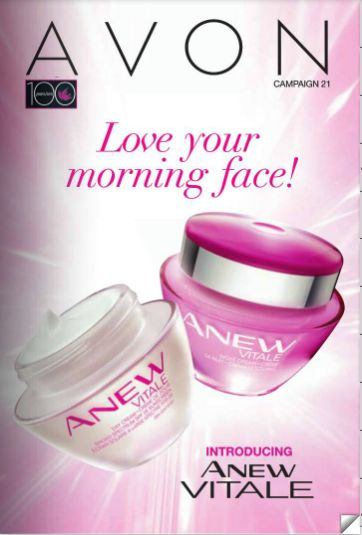 Show your face some TLC after the hot summer weather♥♥♥ Introducing our Anew Vitale line! Save over $7 on each product this campaign only. Also, check out the offer on page 11.  You can order from this campaign up until Wednesday, October 8th, 2014.  Hurry!!! These deals don't last forever, sieze the sizzling deals before they are gone :)  avonwithope@gmail.com Happy Shopping :)