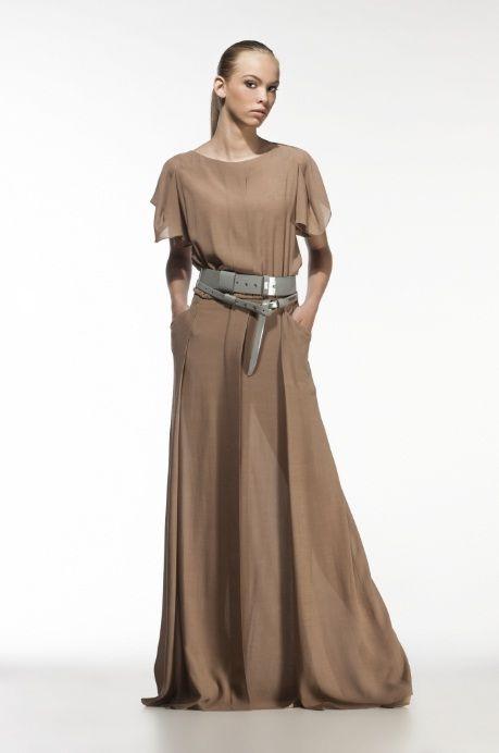 The maxi dress by Ramune Piekautaite. http://www.ramunepiekautaite.com/Kolekcijos/VASARA-14/