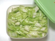 塩キャベツがクセになるおいしさ、簡単便利な作り置きレシピ | iemo[イエモ]