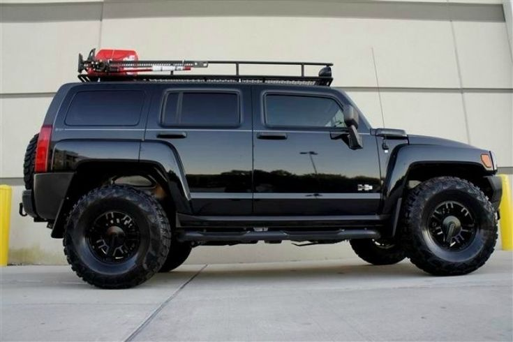 I hate to admit it, but that is one good-looking off-road vehicle.  (2008 HUMMER H3)