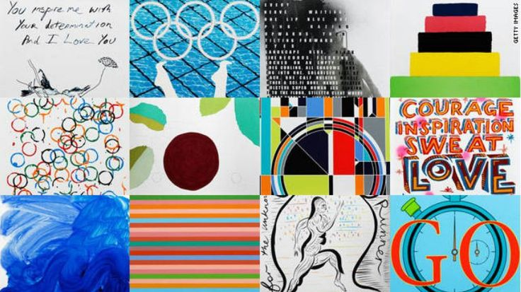 Posters for London Olympics 2012