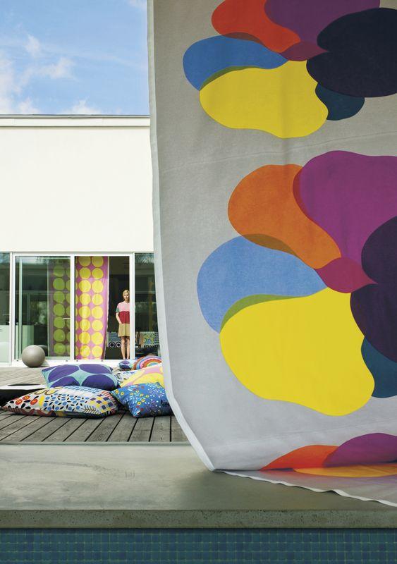 Marimekko S/S 14  Pop! fabric / Design by Paavo Halonen for Marimekko