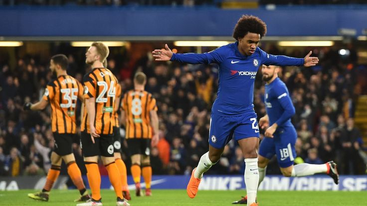 Willian's performance gives Conte more to ponder before Barca