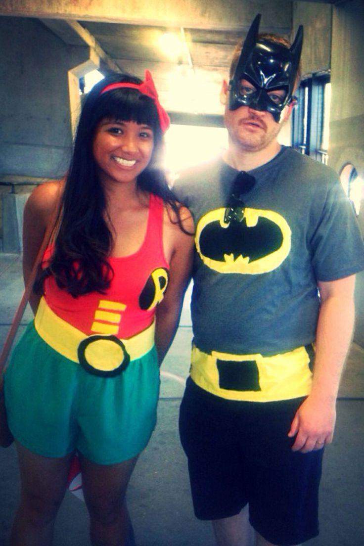 batman couples costumes, couples batman and batgirl adult costumes