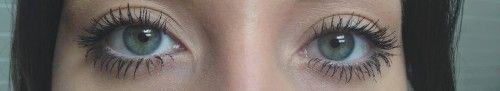 A La Carte Cosmetics Divine Lash Mascara-when worn
