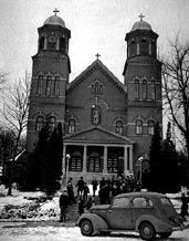 St. Wenceslaus Church, New Prague in MN,1939. Went to school at St. Wenc School...NOT in 1939 though!