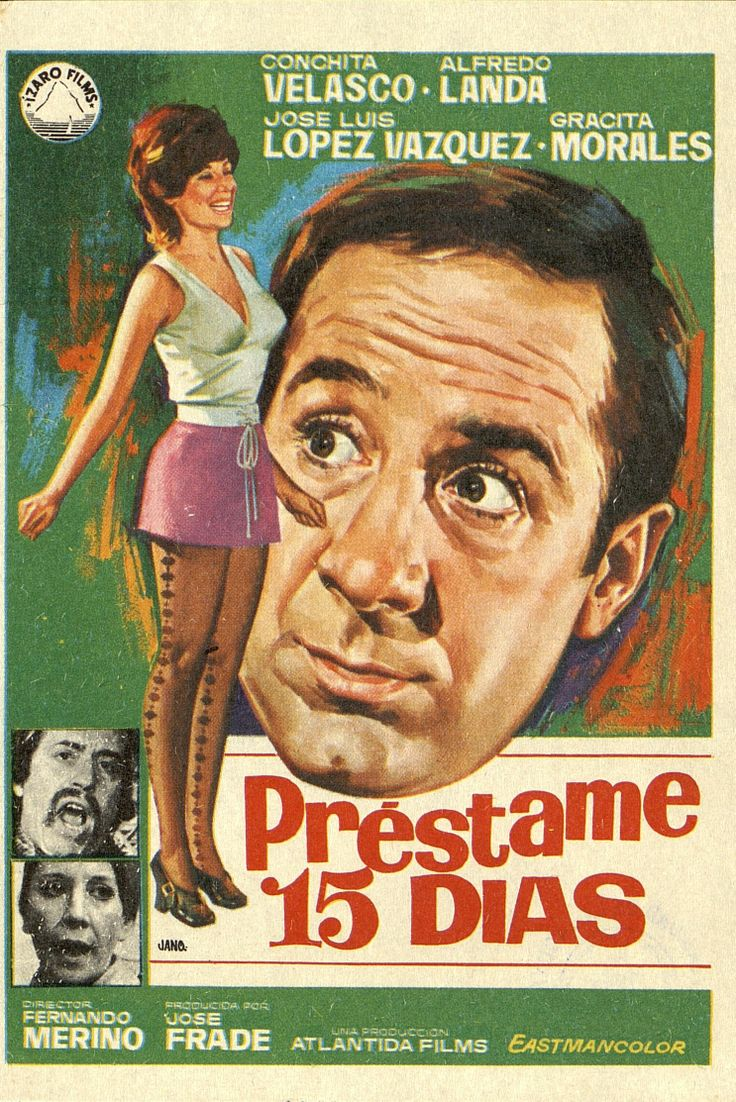 360.     JANO. Préstame 15  días. Dirigida por Fernando Merino. [1971].  #ProgramasdeMano #BbtkULL #CineEspañol #DiadelLibro2014