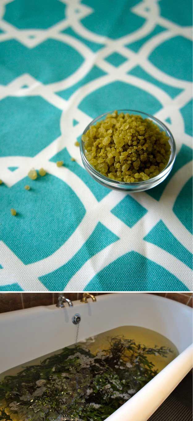 Seaweed Soak   12 DIY Detox Baths