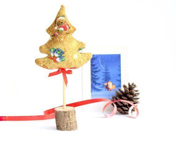Christmas tree Aromat sachet New Year\u0027s decor Christmas tree gift