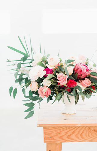 White on White Desert Wedding Inspiration - Inspired By This