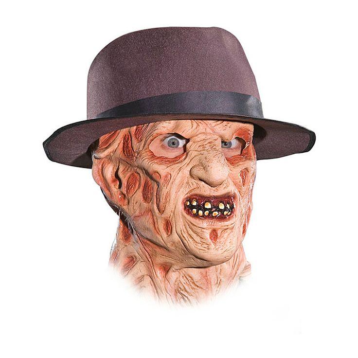 En Freddy Krueger-mask på Halloween. På gränsen till för läskigt. Men du vågar! Titta inte i spegeln bara...