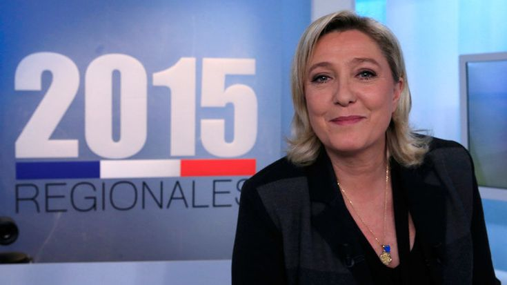 Marine Le Pen's National Front leads in first round of French regional elections – exit poll — RT News