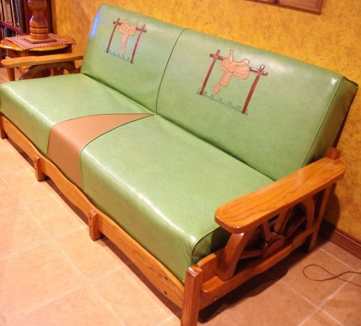 Wooden Furniture For Sale: Wagon Wheel Furniture From The 1950's