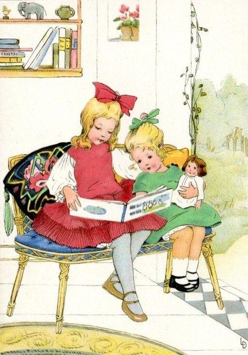 Краски полюбила, открытки для чтения