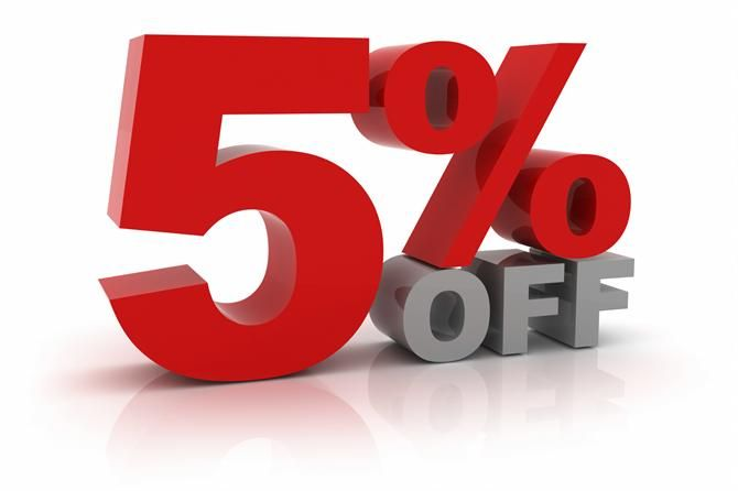 Promotion is next! Use the code: NMAQBNKP today for a 5% discount on any products from our website!