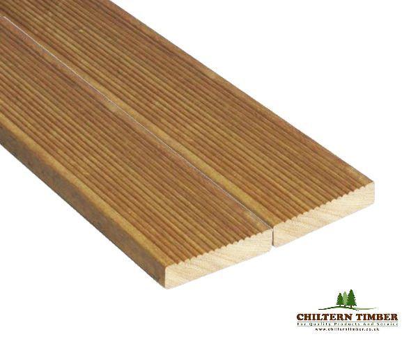 Hardwood Decking – Balau Decking 19 x 90mm x 3.35m | Chiltern Timber