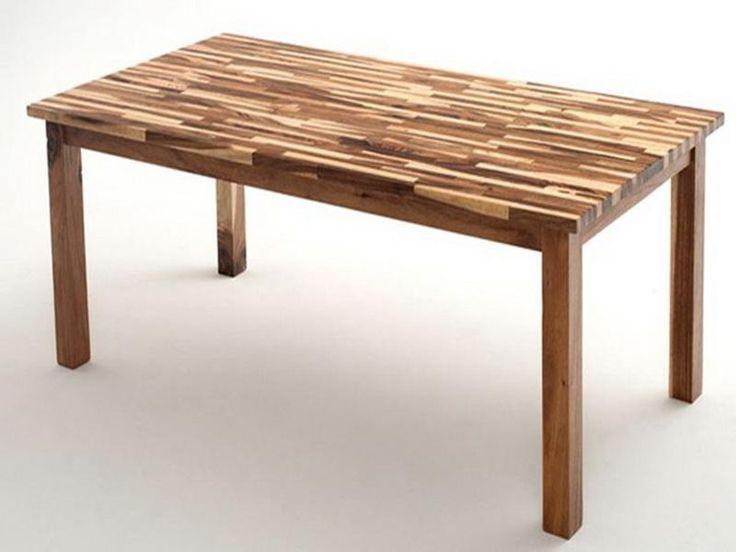 Butcher Block Desk Classic Dining Table