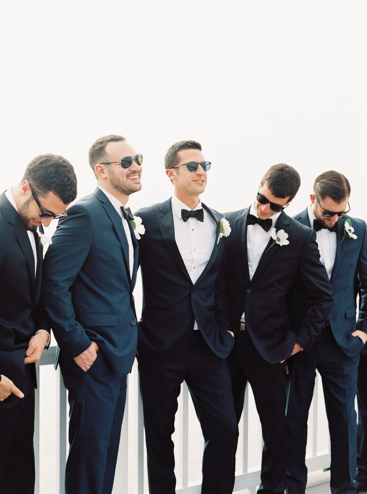 Groomsmen looking classy: Photography: Kate Ignatowski Photography - kateignatowski.com   Read More on SMP: http://www.stylemepretty.com/2016/08/12//