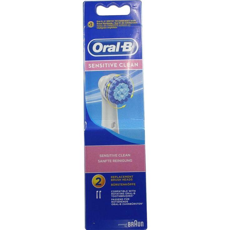 ORAL B Aufsteckbürsten Sensitive:   Packungsinhalt: 2 St Zahnbürste PZN: 04892395 Hersteller: Procter & Gamble GmbH Preis: 8,78 EUR inkl.…