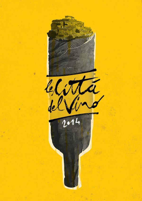 poster / Città Del Vino 2014 (ITALY) by EB