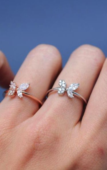 Simply stunning butterfly ring