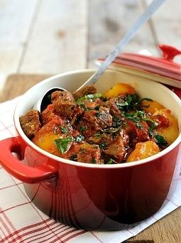 Easy one-pot beef stew. Loads of veg, no hassle. Definitely better than eating rubbish.