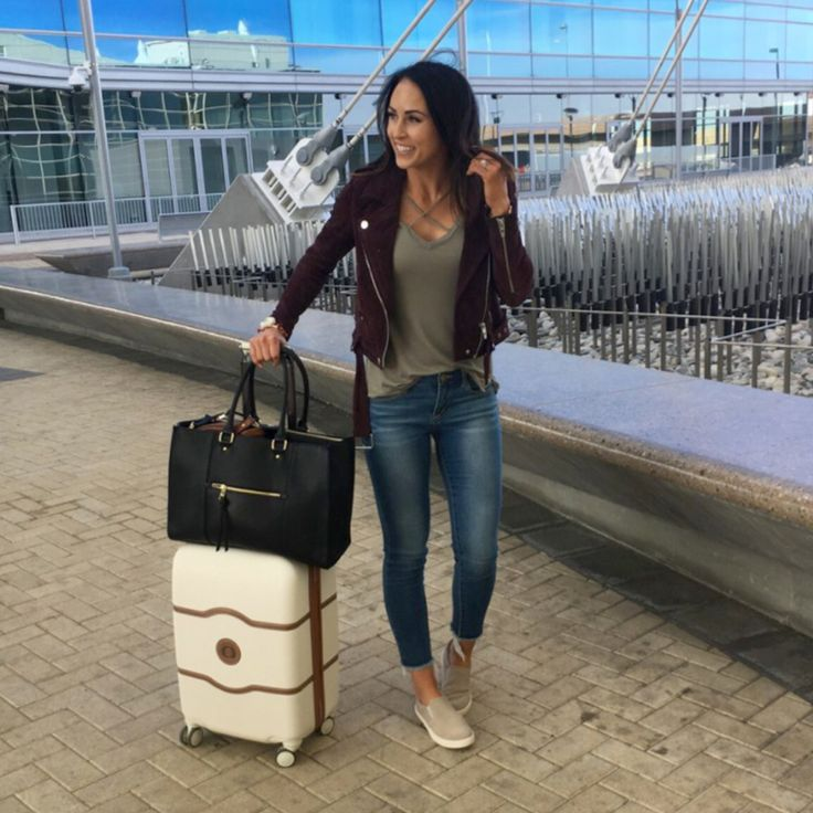 ✈️ plane-ready, travel-chic outfit via @ paleomg featuring the Madison Slip On Sneaker