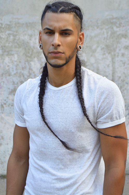 hair styles for long hair men balletfetish zopffrisuren coiffure cheveux und 8006 | 9b604e503b99a9baedee9c3f53f6bb78 ebony hair hype hair