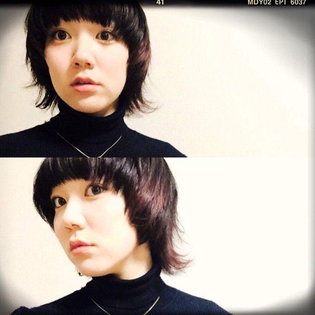「ピュアで個性派。暗髪×マッシュウルフ のアンニュイガールになりたいの。」に含まれるinstagramの画像|MERY[メリー] http://mery.jp/instagram_photos/134535?from=mery_ios