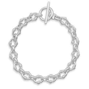 "8"" Oval Link with Rope Bracelet MMAIntl. $92.45"