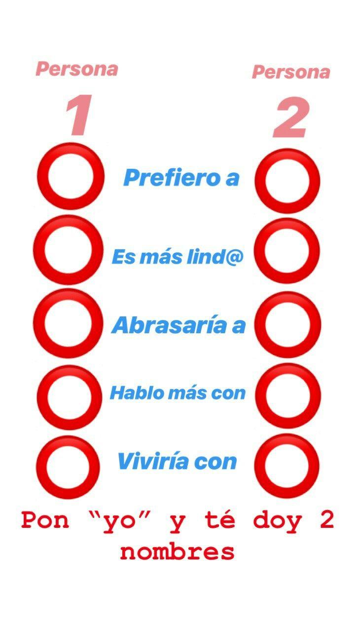 Pin De Sol Briceño En Whatsapp Encuestas Para Amigos