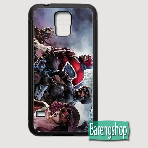 Rubber Case X-Force Comics Custom Samsung Galaxy S5 Case
