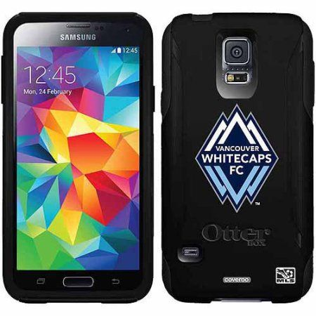 Vancouver Whitecaps FC Emblem Design on OtterBox Commuter Series Case for Samsung Galaxy S5