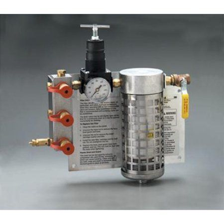3M Compressed Air Filter And Regulator Panel, Multicolor