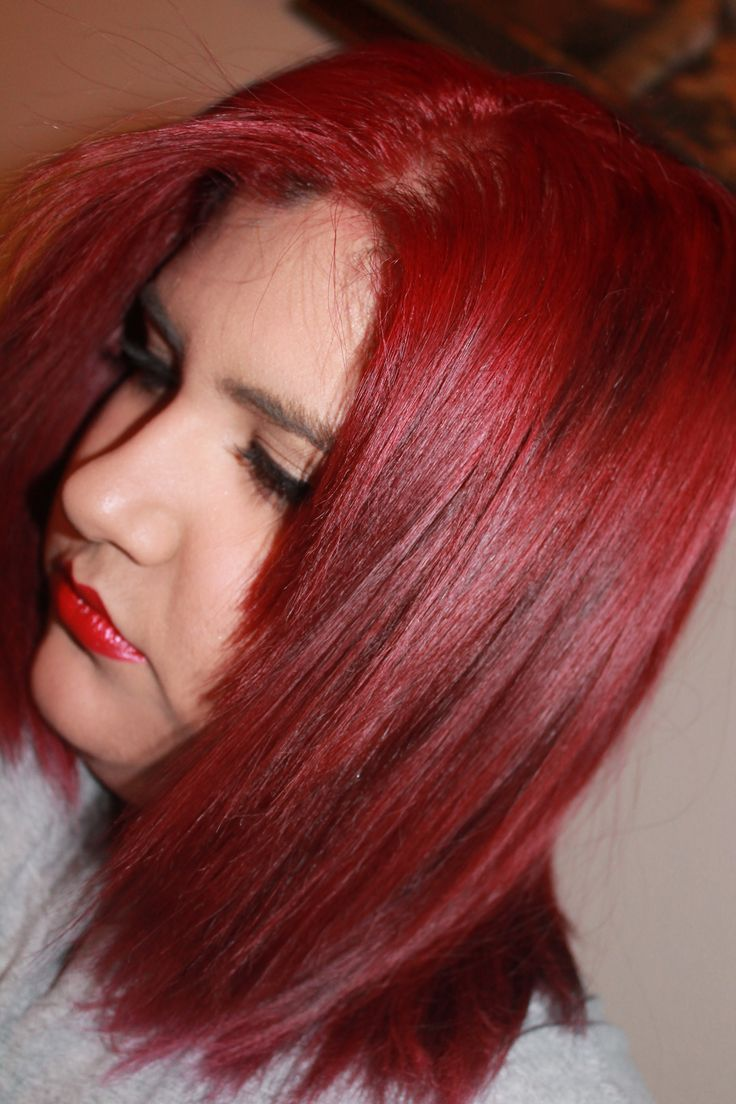 Loreal hair color quiz - How To Dye Your Hair Bright Red And How To Maintain It L Oreal Excellence Hicolor Highlights For Dark Hair Only In Magenta