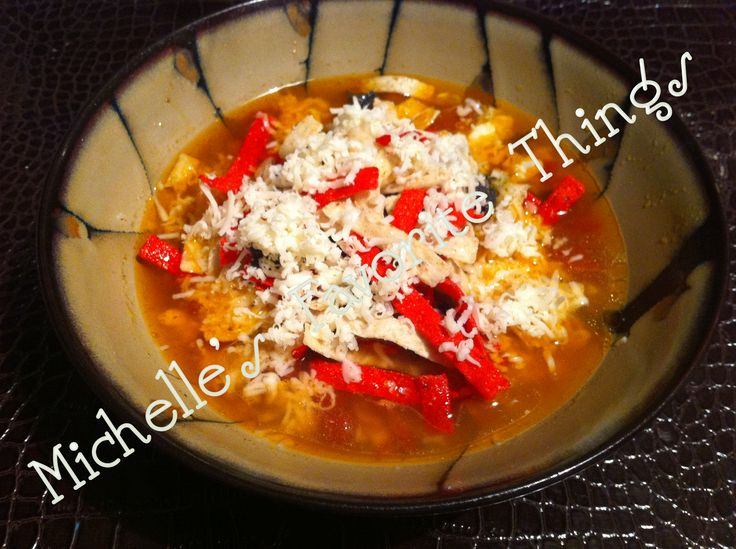 Tortilla Soup --- closest recipe to BJ's version!