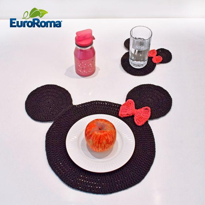 sousplat-infantil-croche-euroroma-minnie