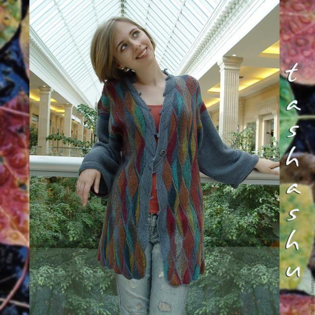 МК Осенние листья (вязаный пэчворк).Очень красиво. Обсуждение на LiveInternet - Российский Сервис Онлайн-Дневников