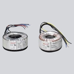 We are Manufacturer of Toroidal Inductors that accompanies higher Q calculates, higher inductance, self-shielding, less leakage inductance and lower electromagnetic impedance (EMI). The aforementioned Toroidal inductors emphasize level misfortune and have a mixed bag of choices suitable for an extensive variety of provisions