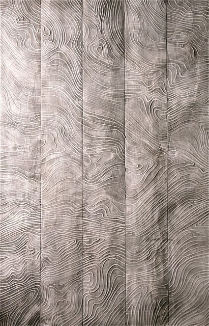 wood grain texture panel. Topology as pattern/surface texture.