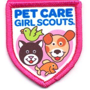 Girl Scout Shop - Pet Care Patch    Ask Aunt Mindy?