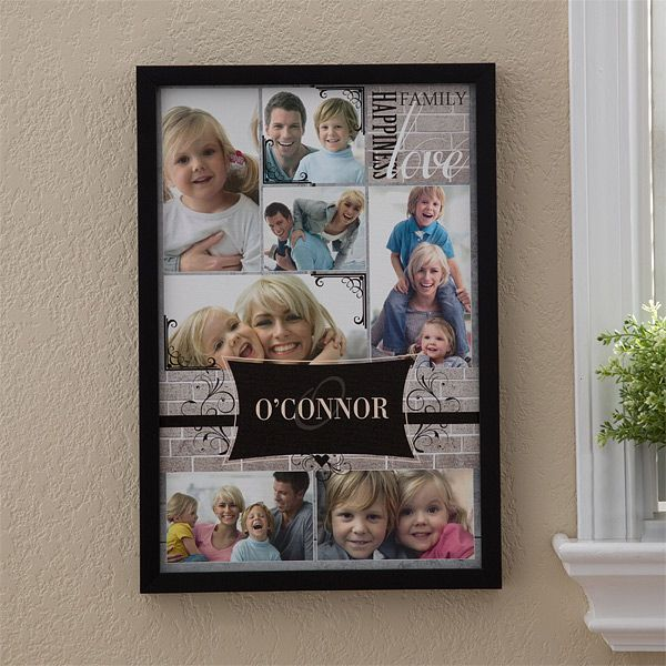 12738 - Family Photo Memories Personalized Canvas Prints