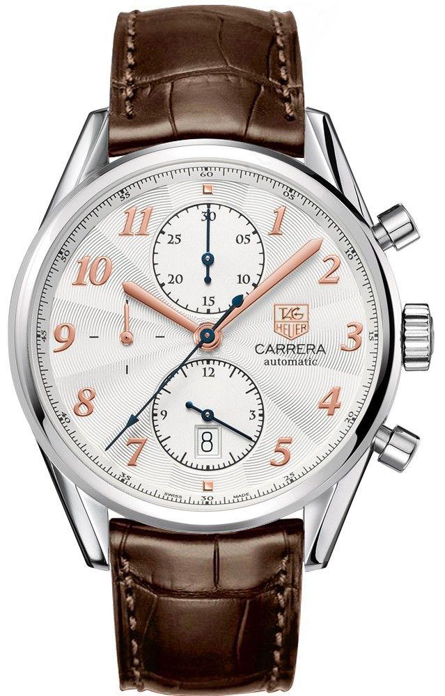 Tag Heuer Carrera Caliber 16 Heritage Automatic Chronograph CAS2112.FC6291